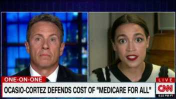 Alexandria Ocasio-Cortez: Why Do We 'Write Blank Checks for War' But 'Our Pockets Are Empty' When It Comes to Medicare for All?