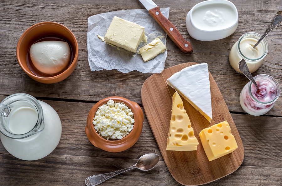 Various Types Of Dairy Products