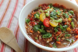 Watch: Raw Vegan Chili Recipe