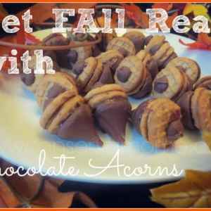 Get Fall Ready With Chocolate Acorns