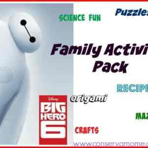 Disney's Big Hero 6 Fun Activites!