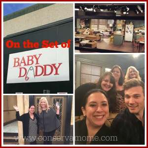 On the Set of Baby Daddy!