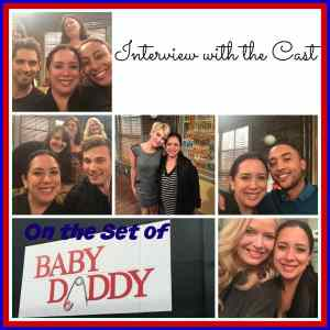 On The Set of Baby Daddy: Interview with The Cast