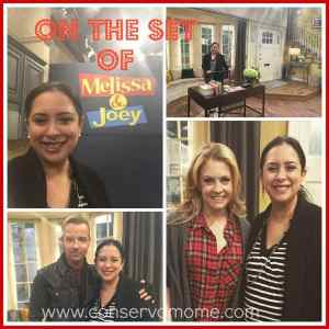 On The Set of Melissa & Joey