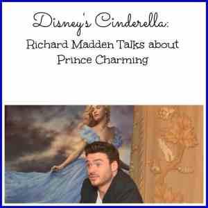 Disney's Cinderella: Richard Madden Talks about Prince Charming