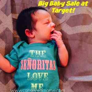 Big Baby Sale At Target This Week!