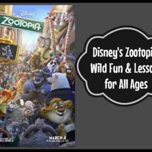 Disney's Zootopia: Wild Fun & Lessons  for All Ages