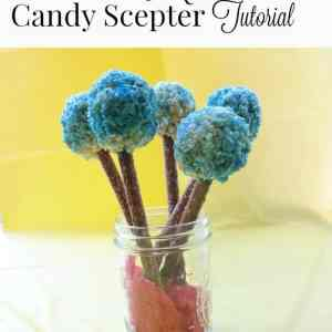 Elena of Avalor Candy Scepter Tutorial