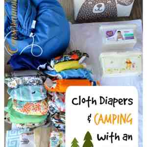 Cloth diapers & camping With An Infant