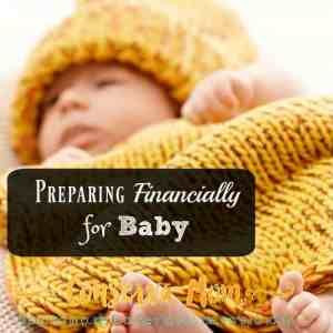 Preparing Financially for Baby  + $50 Amazon Gift Card Giveaway