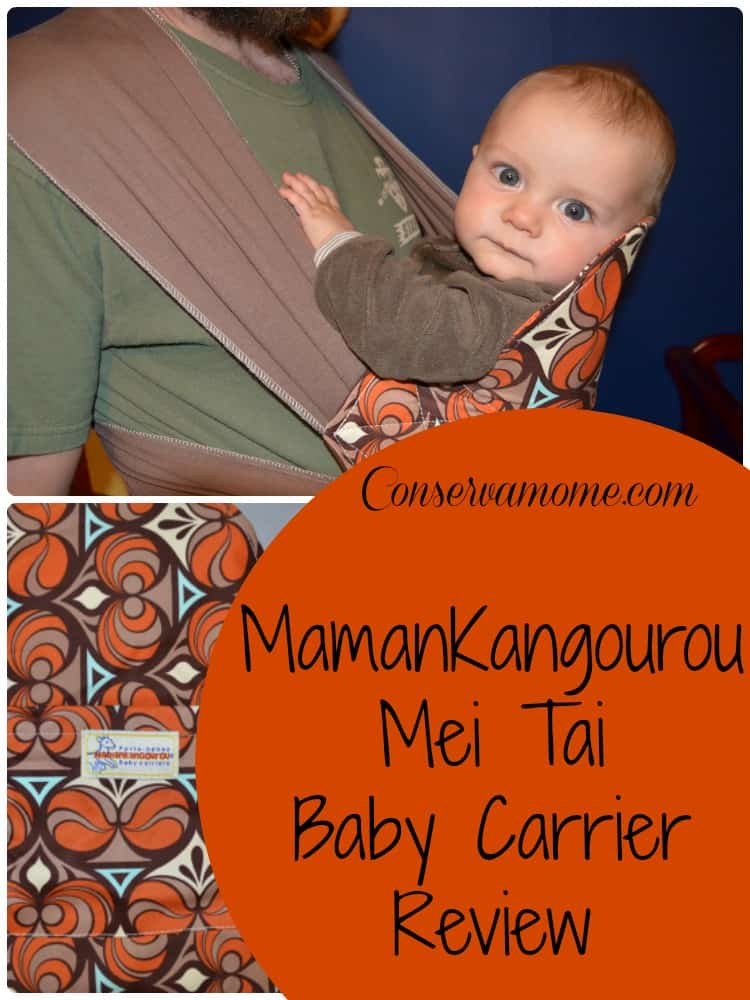 MamanKangourou Mei Tai Baby Carrier