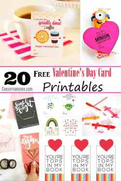 Staggering Free Day Printables Free Day Printables Conservamom Free Valentine Printables Labels Free Valentine Printables Fish