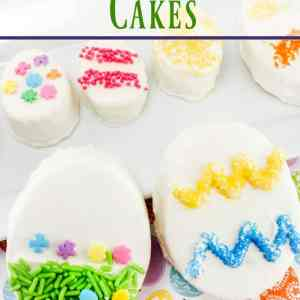 Easter Egg Cakes -Easy & Delicious!