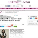 Huffington Post published pro-racial segregation article