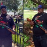 Black Lives Matter Protester Arrested At Confederate Memorial Day Event In Montgomery, AL
