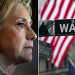 Wall Street: We're With Her