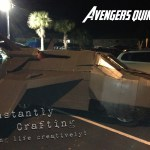 Trunk or Treat Avenger's Quinjet