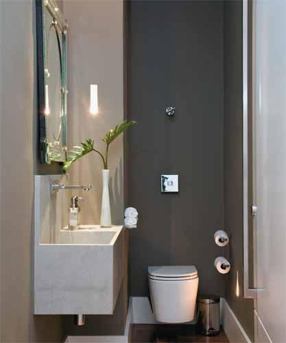 decoracao de lavabo bonito moderno e elegante