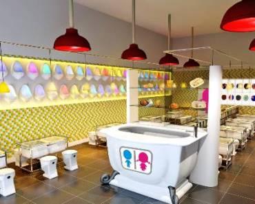 Restaurante-banheiro