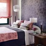 decoracao feminina no quarto de casal flora