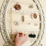05 Guardar bijuterias em moldura antiga