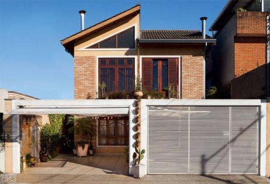 04 casa moderna e rustica de tijolo a vista