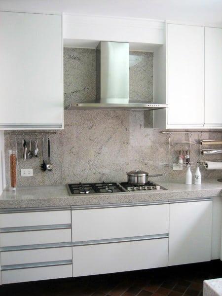Branco ceara na cozinha projeto