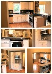 Construction2style Kitchen Remodel, white cabinets, wood floor, stainless steel, Jamie Molitor