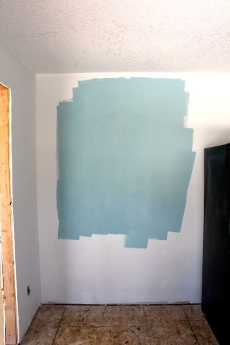 Kitchen Teal Blue Paint Color