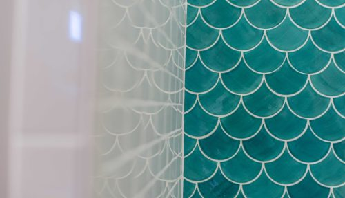 Medium Of Fish Scale Tile