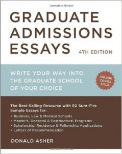 Asher Graduate Admission Essays
