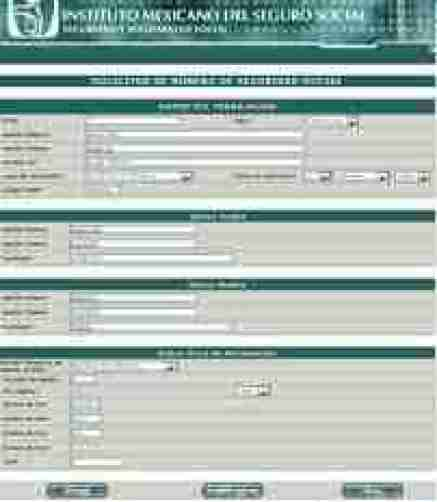 SolicitudNSS thumb Pre Registro del Numero de Seguridad Social en el portal del IMSS