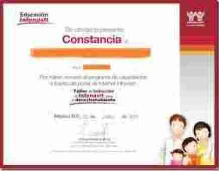 constancia taller infonavit 2011 thumb Requisito Obligatorio para Obtener Crédito Infonavit Taller Saber para Decidir