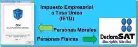 ietu persona fisica y moral thumb Listado de Impuesto Empresarial a Tasa Única (IETU) del ejercicio 2012