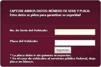 pago tenencia sonora thumb Pago de Tenencia, Refrendo y Placas de Sonora 2013