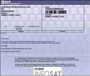 imprimir rfc sat Calcular el RFC con Homoclave desde Excel   Registro Federal de Contribuyentes SAT