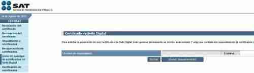 CERTISAT 3 thumb Guia para Descargar mi Certificado de Sello Digital (CSD) y emitir Facturas Electronicas CFDI