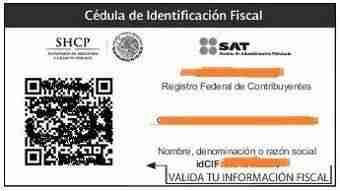 CIF CMX 2014 thumb Descargar la CIF Cedula de Identificacion del SAT con CBB – Regimen del Contribuyente y datos basicos