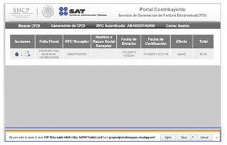 """image thumb18 Guia para Facturar con CFDI desde la pagina del SAT – Factura Facil desde """"Mis Cuentas"""""""