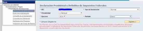 nuevos pagos provisionales Personas Fisicas 2014 thumb Nuevo Sistema de Declaraciones y Pagos de Personas Fisicas 2014 ante el SAT