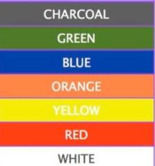 wheelie bin colours