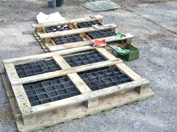 Small Of Pallet Container Garden