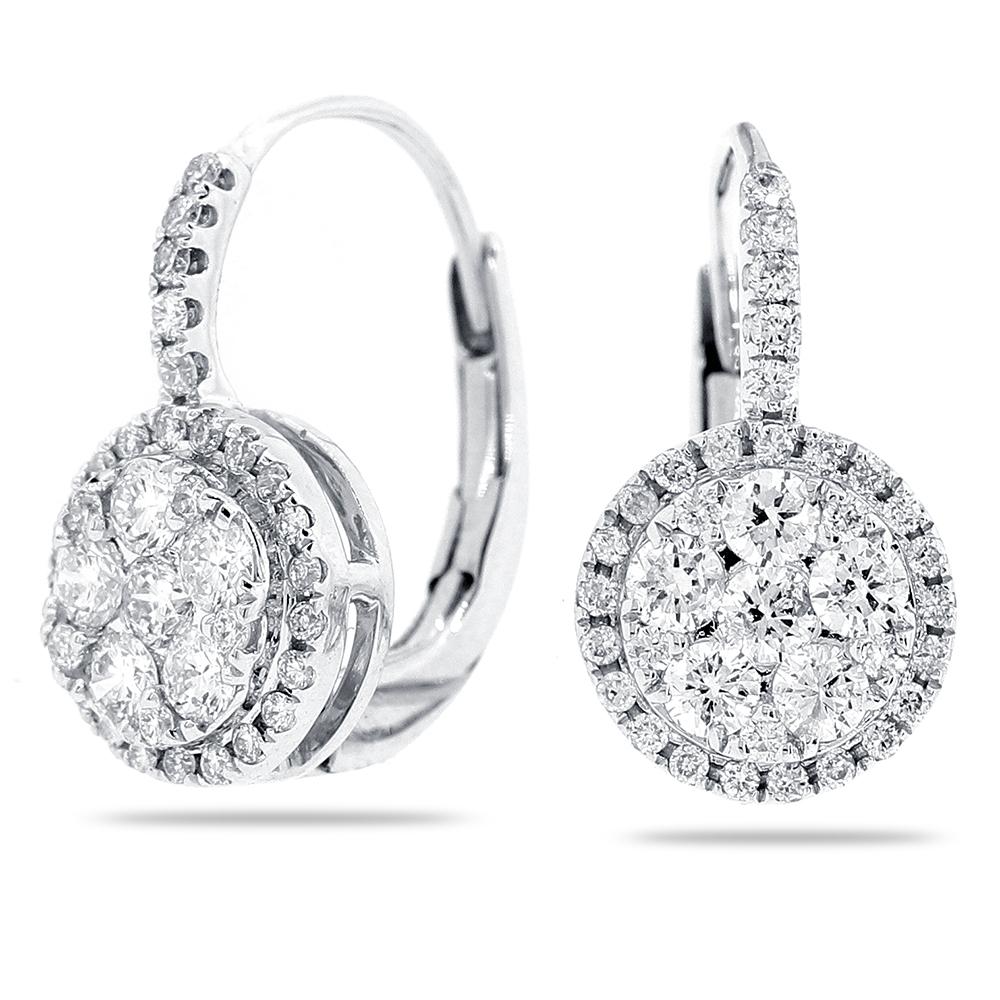 Fullsize Of White Gold Earrings