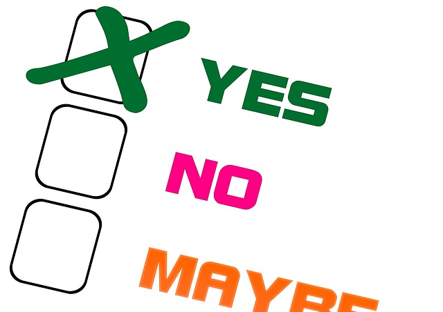 consent yes no maybe