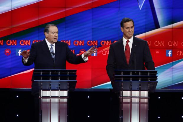 The Venetian Hotel in Las Vegas, site of the CNN Republican Debate.