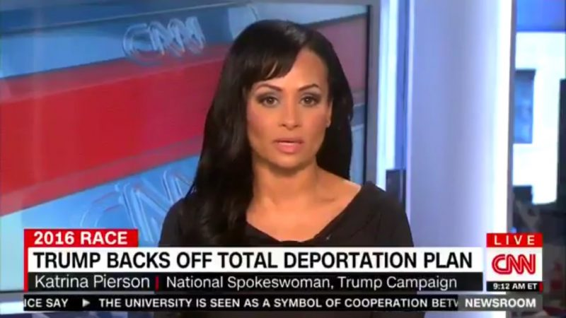 katrina pierson changed the words