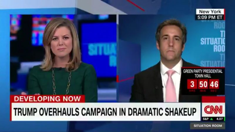 michael cohen says who