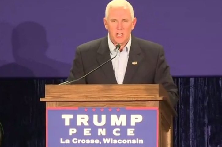 mike pence wisconsin