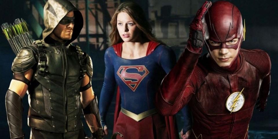 CW Arrow Flash Supergirl