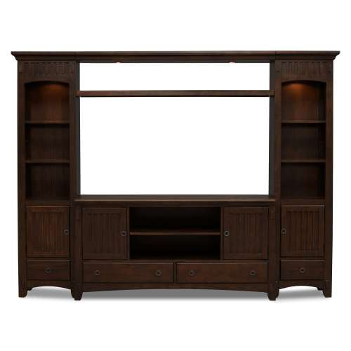 Medium Of Entertainment Center Wall Unit